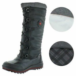 Cougar Canuck Tall Nylon Waterproof Snow Boots
